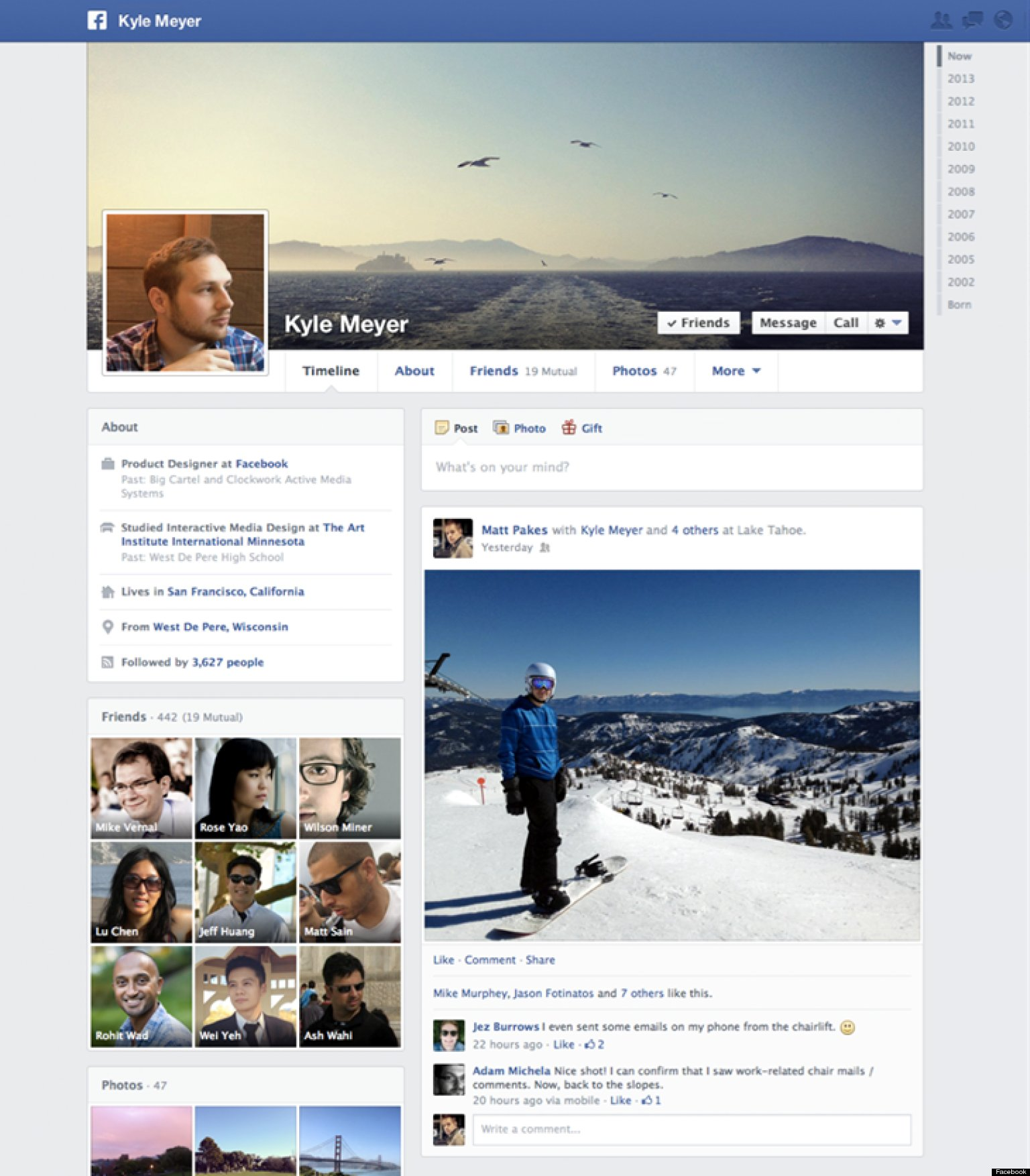 how to post a document to facebook timeline