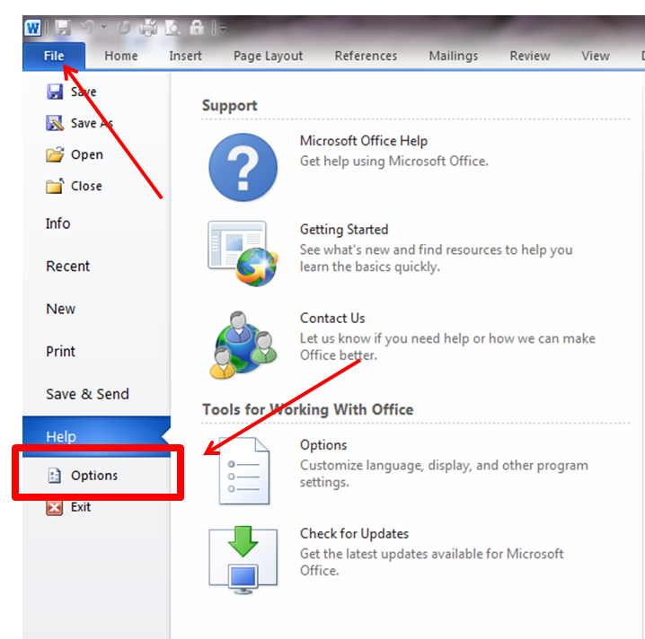 how to cite a microsoft word document in apa