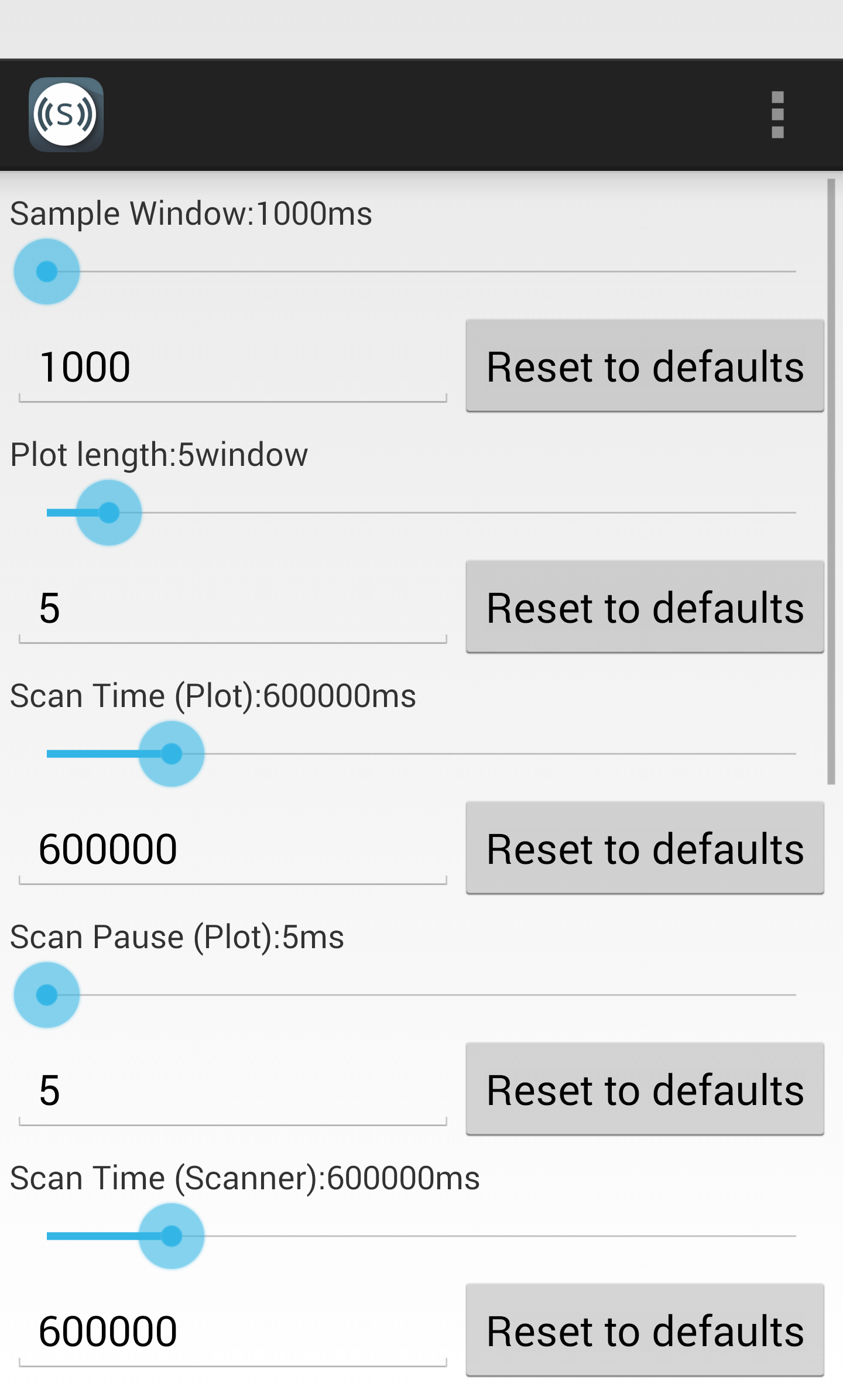 android app documentation sample