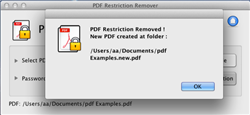 how to change document restrictions in pdf