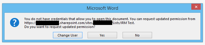 this document has been irm protected by policy