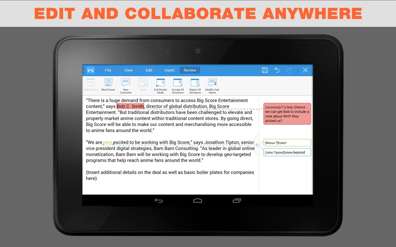 document apps for android free
