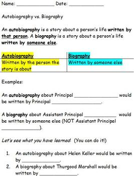 a resource document vs bibliography