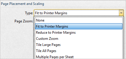 changing a document orientation to booklet