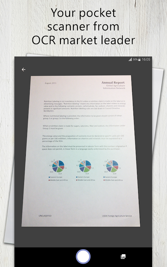 document scanner for android mobile