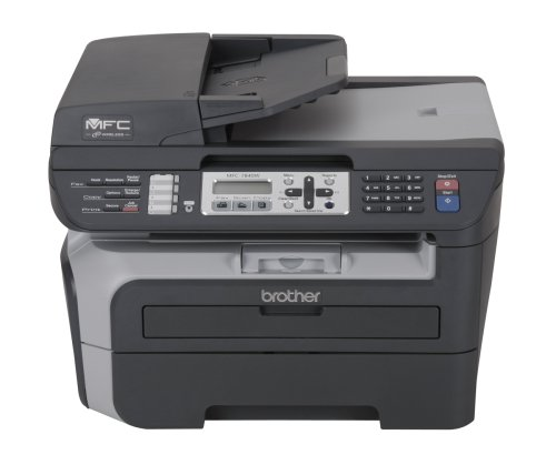 brother mfc 2540dw line on scanned document